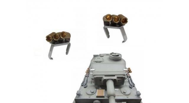 Направляющие для дымовых гранат для танка Tiger (металл) 2