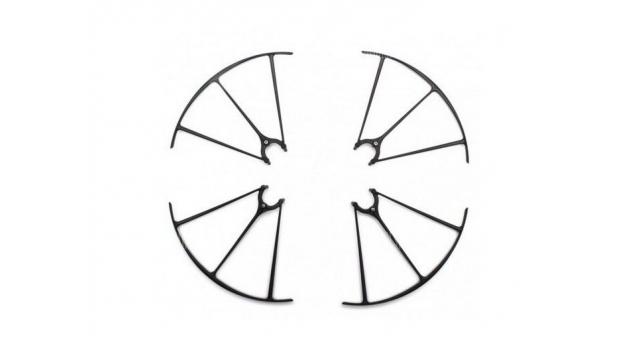 Защита лопастей для квадрокоптера Syma X5HW/HC, черная 1