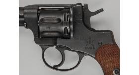 Макет массогабаритный револьвера Наган / Тип - 1936 год №23607 [наган-94]