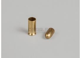 Комплект 6.35х15-мм (25 auto) пуля с декапсюлированной гильзой