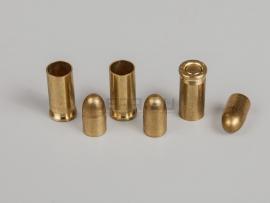 3760 Комплект 6.35х15-мм (25 auto) пуля с капсюлированной гильзой