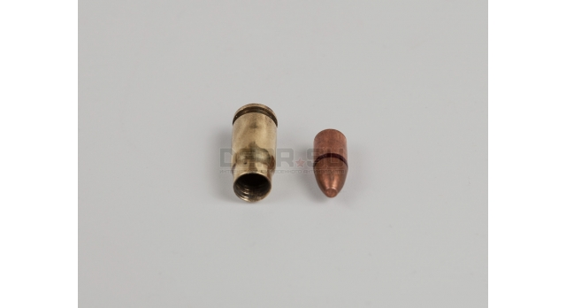 Комплект 5.45х18-мм (ПСМ) пуля с капсюлированной гильзой / Новый оболоченная пуля с латунной гильзой [мт-472]