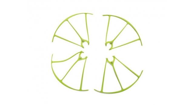 Защита лопастей для квадрокоптера Syma X5HW/HC, зеленая 1