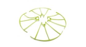 Защита лопастей для квадрокоптера Syma X5HW/HC, зеленая 2
