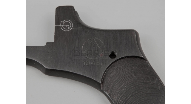 Крышка для револьвера Наган / Оригинал склад клеймо Ижевск 1943 год [наган-56(4)]