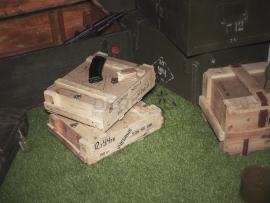 3818 Армейский укупорочный ящик для учебных патронов