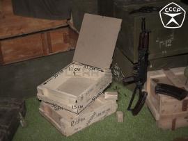 3820 Армейский укупорочный ящик для учебных патронов