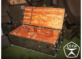 Армейский укупорочный ящик для автоматов АК-74
