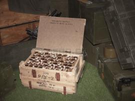 3831 Армейский укупорочный ящик для ручных дымовых гранат РДГ-2