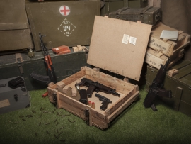 3837 Армейский укупорочный ящик РХБЗ для регенеративных патронов РП-4