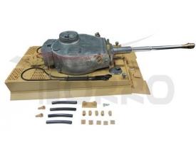 Металлическая башня танка Tiger BB версия