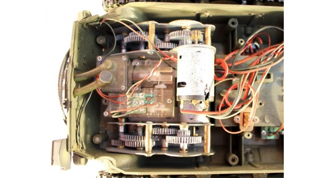 Р/У танк Taigen 1/16 M26 Pershing Snow leopard (США) PRO 2.4G RTR 9