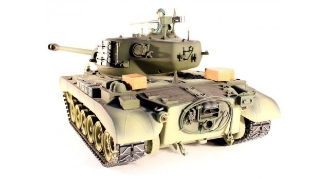Р/У танк Taigen 1/16 M26 Pershing Snow leopard (США) PRO 2.4G RTR 12