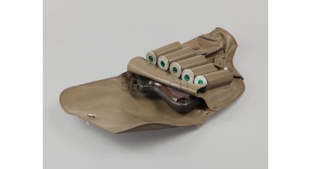 Кобура для ракетниц Heckler & Koch / Брезент для H&K Sig Pi 2 Diana (Geco) и H&K P2A1 без протирки [мт-247]