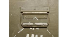 Армейский укупорочный ящик медицинского назначения / Деревянный со стальными застежками (80х52х37) [ящ-2/1]