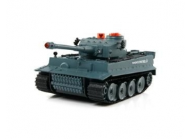 Р/У танк Huan Qi Tiger 1:24 для танкового боя, 2.4G RTR + акб и ЗУ