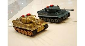 Р/У танк Huan Qi Tiger 1:24 для танкового боя, 2.4G RTR + акб и ЗУ 2