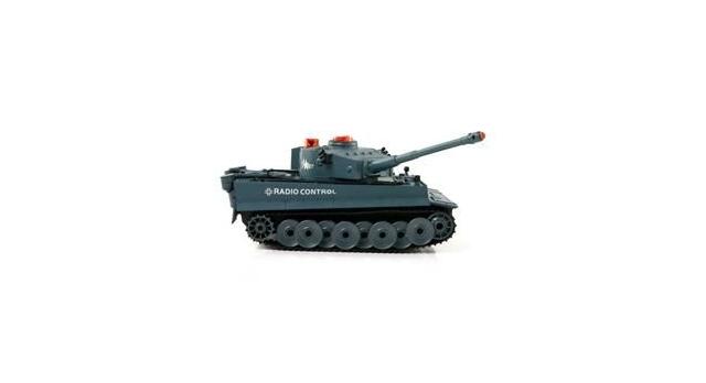 Р/У танк Huan Qi Tiger 1:24 для танкового боя, 2.4G RTR + акб и ЗУ 4