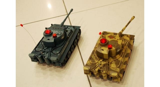 Р/У танк Huan Qi Tiger 1:24 для танкового боя, 2.4G RTR + акб и ЗУ 5
