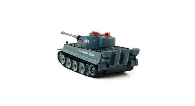 Р/У танк Huan Qi Tiger 1:24 для танкового боя, 2.4G RTR + акб и ЗУ 8