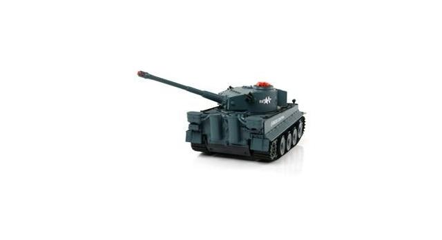 Р/У танк Huan Qi Tiger 1:24 для танкового боя, 2.4G RTR + акб и ЗУ 10