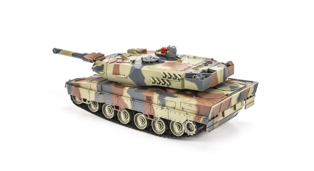 Р/У танковый бой Huan Qi Abrams и Abrams 1:24 2.4G (два танка, з/у, акк) 3
