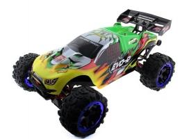 Радиоуправляемая трагги Remo Hobby EVO-R Brushless UPGRADE (зеленая) 4WD 2.4G 1/8 RTR