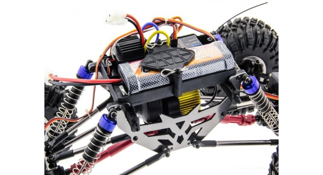 Радиоуправляемый краулер Remo Hobby Mountain Lion Xtreme 4WD+4WS 2.4G 1/10 RTR 6