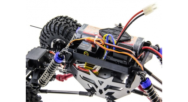 Радиоуправляемый краулер Remo Hobby Mountain Lion Xtreme 4WD+4WS 2.4G 1/10 RTR 7