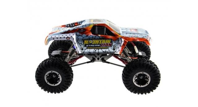 Радиоуправляемый краулер Remo Hobby Mountain Lion Xtreme 4WD+4WS 2.4G 1/10 RTR 8