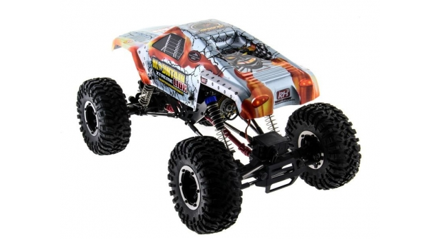 Радиоуправляемый краулер Remo Hobby Mountain Lion Xtreme 4WD+4WS 2.4G 1/10 RTR 13