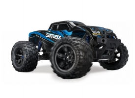 Радиоуправляемый монстр Remo Hobby SMAX (синий) 4WD 2.4G 1/16 RTR