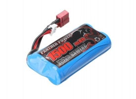 Аккумулятор Li-Ion 1500mAh, 7,4V, T-plug для Remo Hobby 1/16
