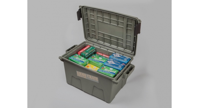 Герметичный пластиковый кейс для патронов MTM Ammo Crate / Новый ACR7 (44х27х23) [мт-478]