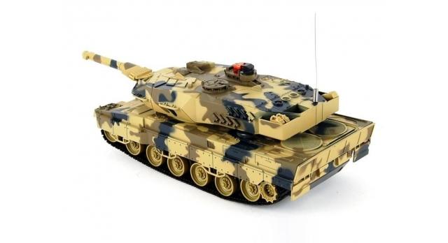 Р/У танк Huan Qi Leopard 2A5 с ИК-пушкой 1:24 2