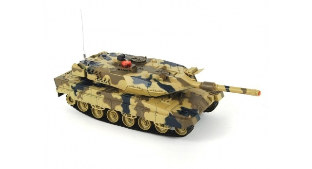 Р/У танк Huan Qi Leopard 2A5 с ИК-пушкой 1:24 3