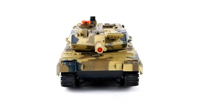 Р/У танк Huan Qi Leopard 2A5 с ИК-пушкой 1:24 5
