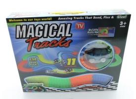 Трек гибкий Magic Tracks &quotСветится в темноте&quot, 150 деталей 1