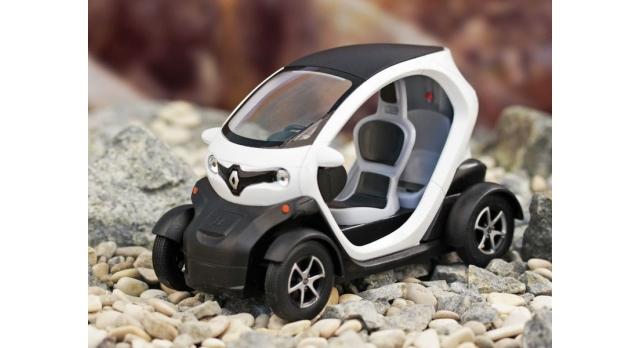 Машина Kinsmart Twizy инерция (1/12шт.) 12,5см б/к 5