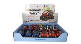 Машина Kinsmart Twizy инерция (1/12шт.) 12,5см б/к 11