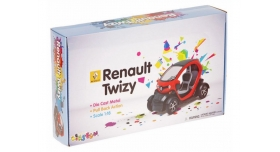 Машина Kinsmart Twizy инерция (1/12шт.) 12,5см б/к 12