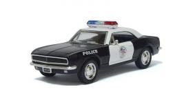 Машина Kinsmart 1:40 Chevrolet Camaro Police инерция (1/12шт.) б/к 1