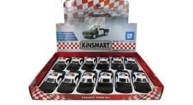 Машина Kinsmart 1:40 Chevrolet Camaro Police инерция (1/12шт.) б/к 2