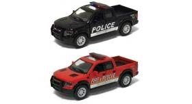 Машина Kinsmart 1:40 Ford F-150 Police Fire Rescue в асс. инерция (1/12шт.) б/к 1