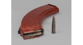 Магазин для АК-47/АКМ (7.62х39-мм) / На 40 патронов рыжий бакелит склад [ак-154]