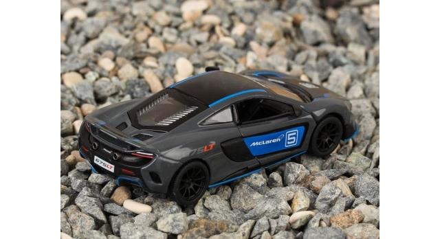Машина Kinsmart 1:36 McLaren 675LT, инерция (1/12шт.) б/к 4