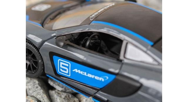 Машина Kinsmart 1:36 McLaren 675LT, инерция (1/12шт.) б/к 7