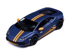 Машина Kinsmart 1:38 Lamborghini Huracan LP610-4 Avio Matte, инерция (1/12шт.) б/к