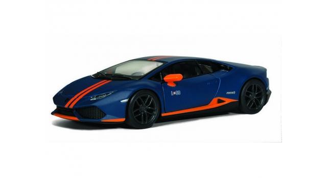 Машина Kinsmart 1:38 Lamborghini Huracan LP610-4 Avio Matte, инерция (1/12шт.) б/к 2