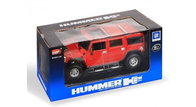 Машина MZ Hummer H2 26020A 1/24 в/к 2